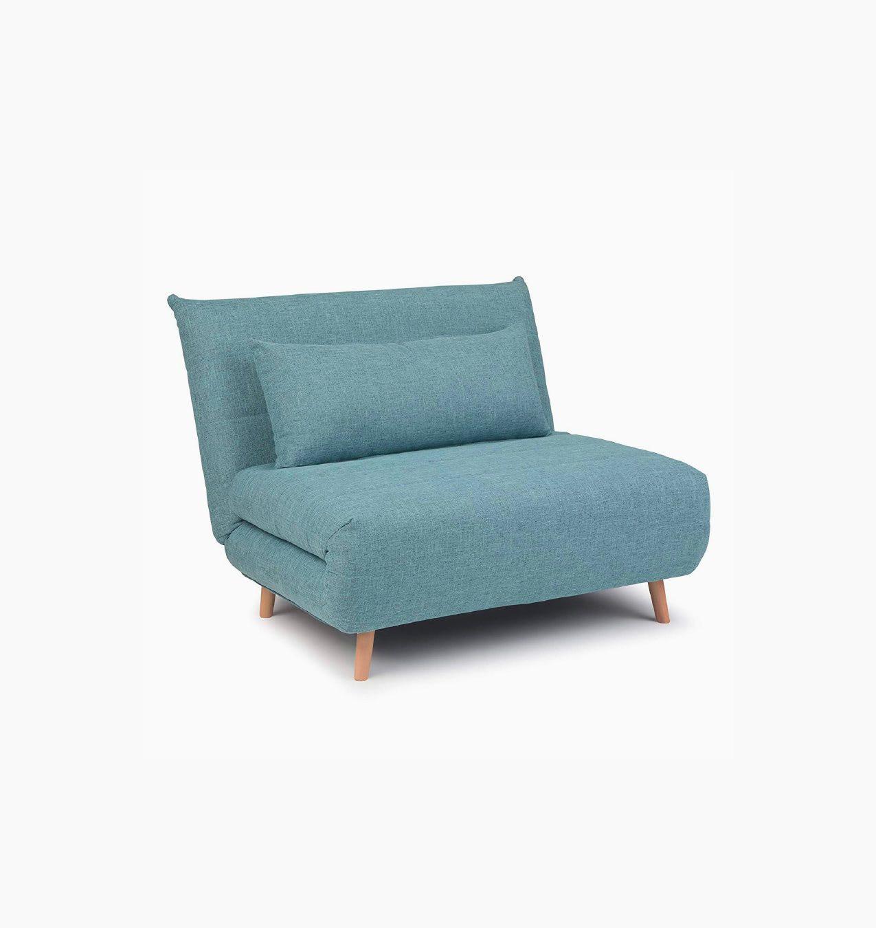 Roll Out Sofa Bed Dark Cyan Zephys